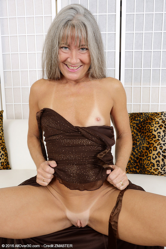 Blonde milf strip